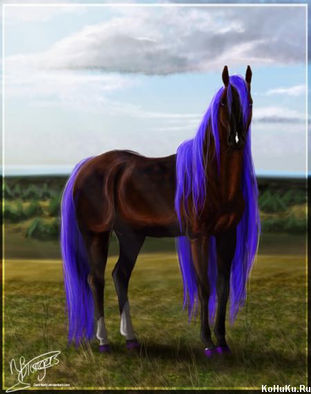 картинки лошадей красивые рисунки