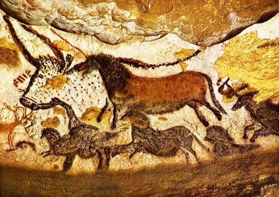 Наскальные рисунки пещеры Ласко, Франция