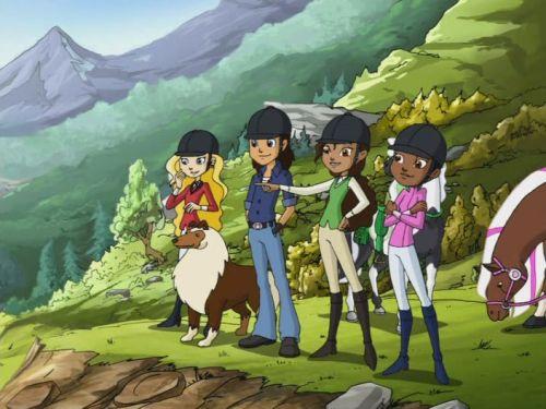 Мультфильм про лошадей страна