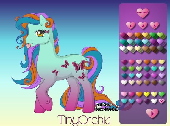 Милашка пони онлайн игра про лошадей