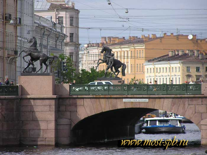 Фото Аничкова моста