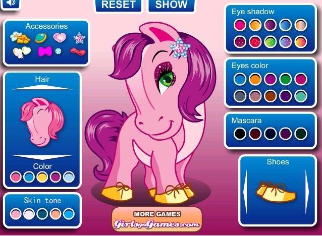 Игры пони о онлайн для девочек vs