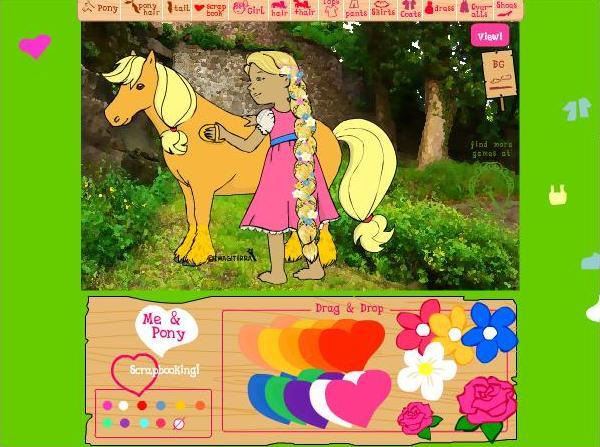 Игры про лошадей онлайн играть