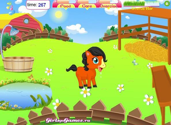 играть в игры с лошадьми для мальчиков