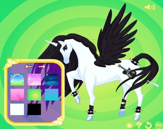 Единорога онлайн игра про лошадей