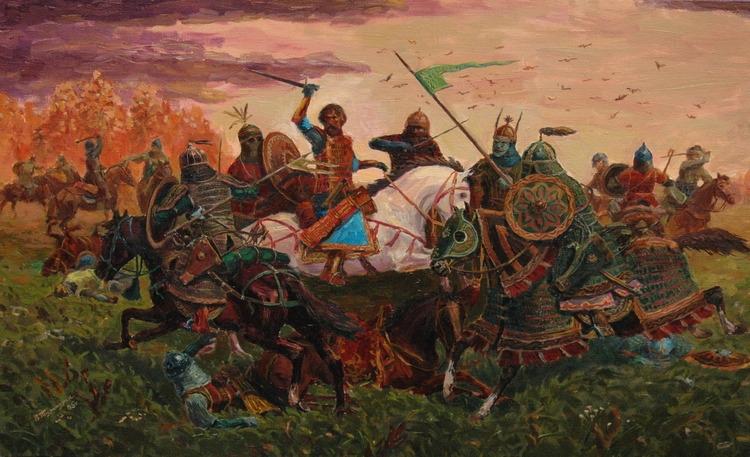 Знакомство руси с монголами