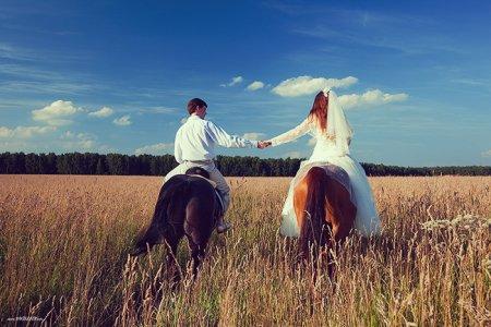 свадьба на лошадях фото