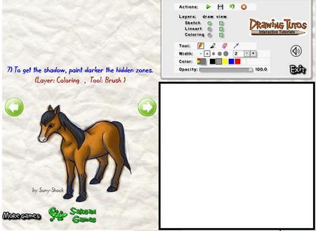 Онлайн игра про лошадей