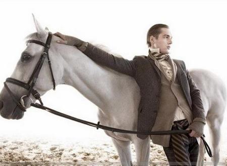 Принц и белый конь