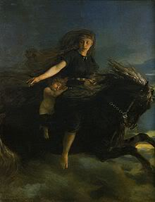 Хримфакси и Богиня ночи Нотт