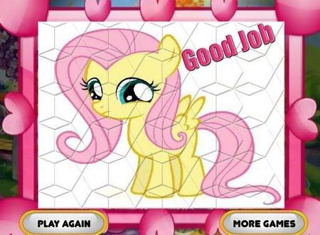 Онлайн раскраска мои маленькие пони дружба это 73