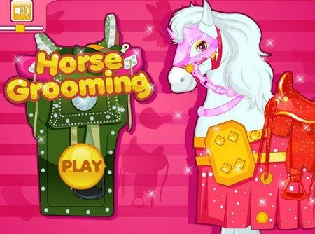 "Игра на android ""Horse Grooming Salon"""