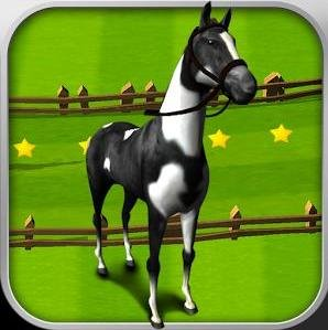 "Игра на android ""Horse Derby Race Training Free"""