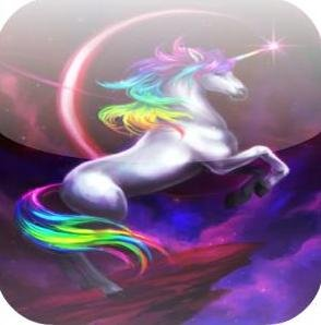 "Игра на android ""Unicorn Run"""