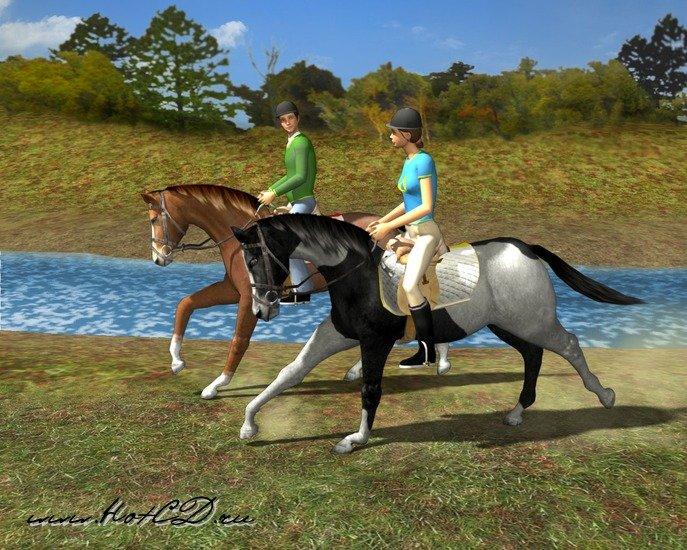 Скачать игру бесплатно на компьютер про лошадей