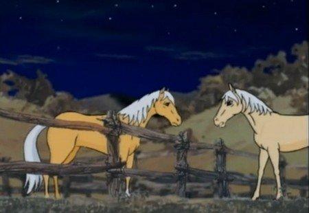 Мультфильм о лошадях серебряный конь
