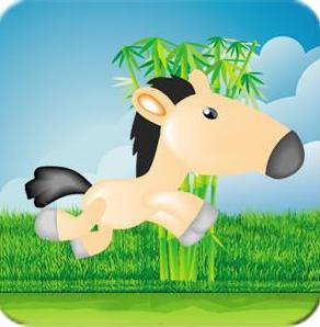 "Игра на android ""Jumppy Horse"""