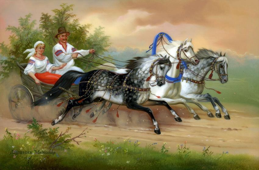 Рог для лошади