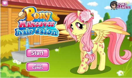 Игры про лошадок пони играть онлайн о