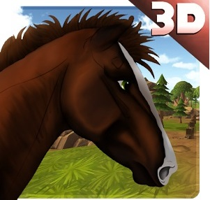 "Игра на android ""Wild Horse Adventure 3D"""