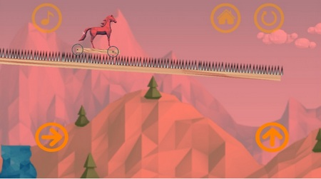 Shiny - The Crystal Horse. Игра на android