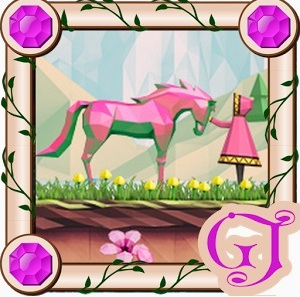 "Игра на android ""Shiny - The Crystal Horse"""