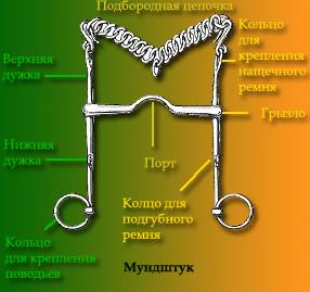 Схема строения мундштрука