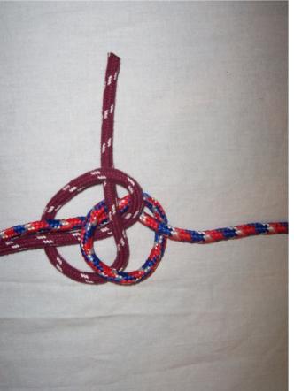 Не затянутый узел в узле